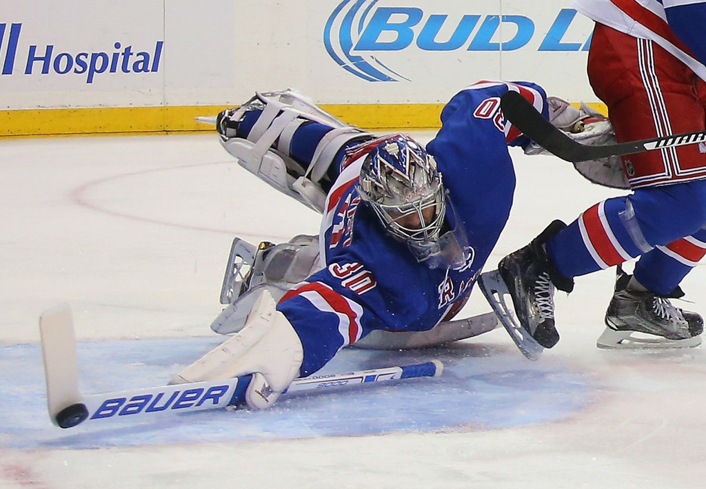 Image result for henrik lundqvist save